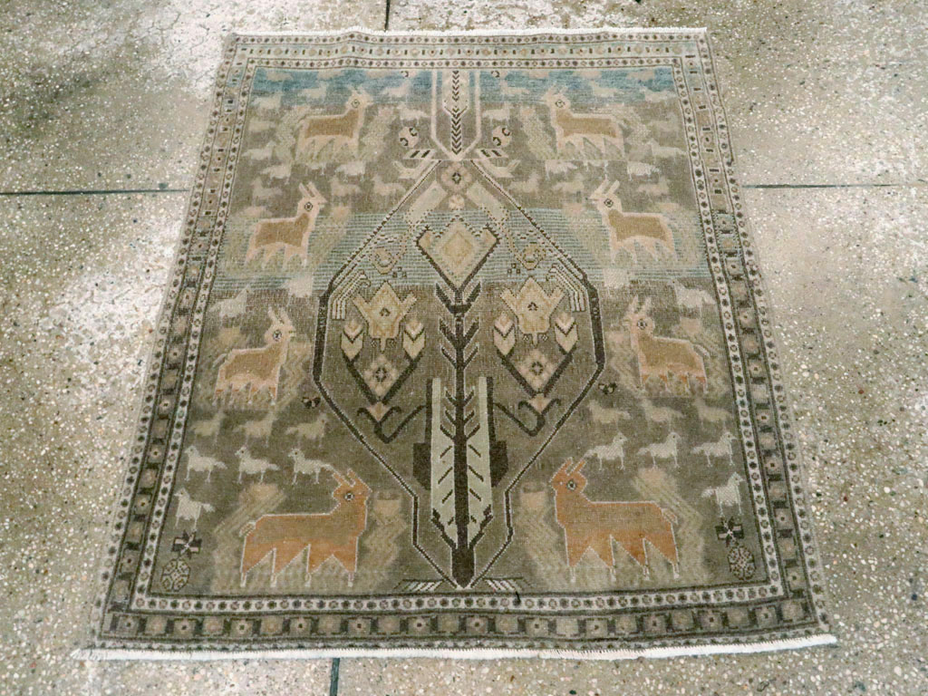 Antique afshar Rug - # 54432
