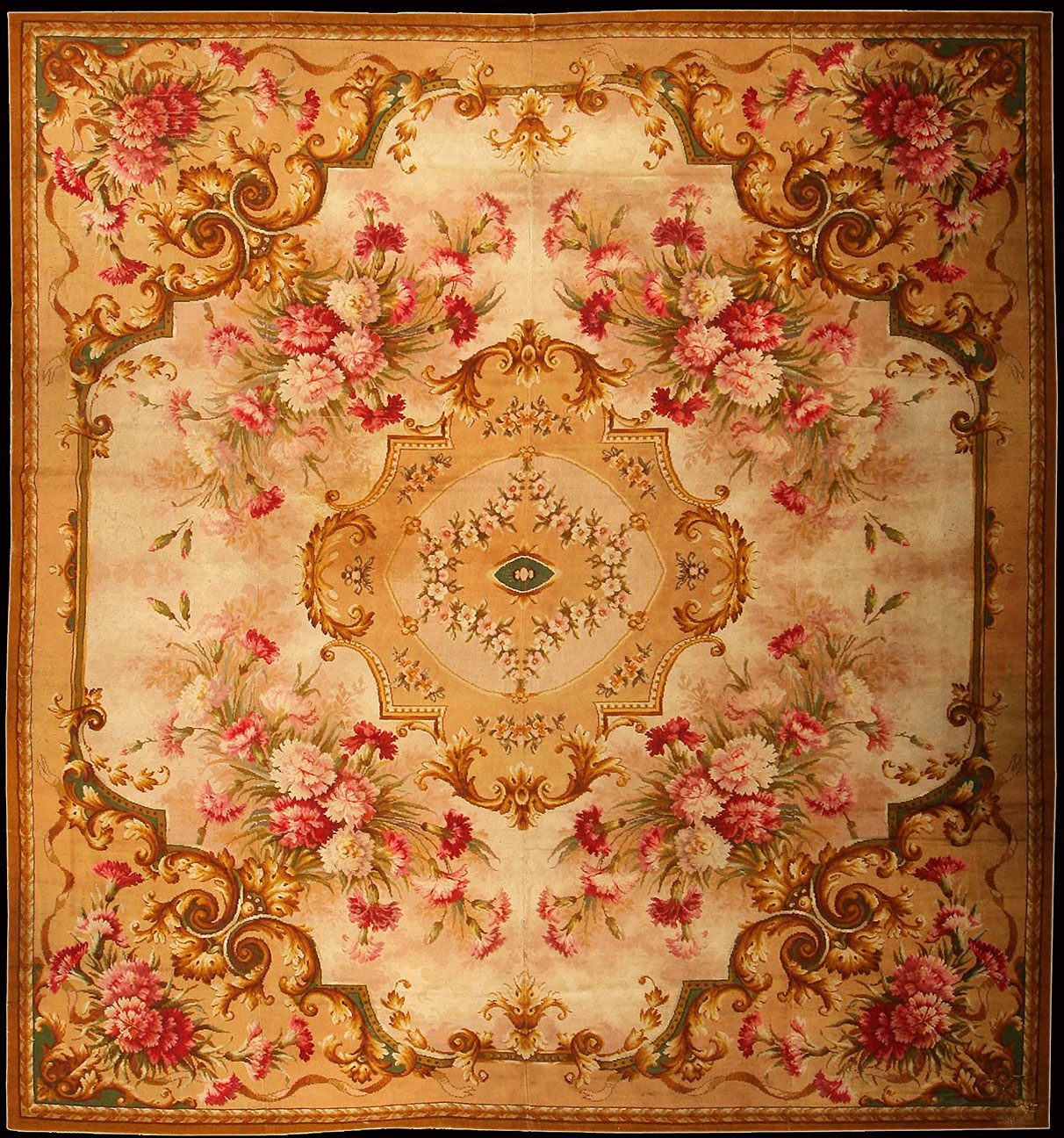 Antique axminster Carpet - # 50180