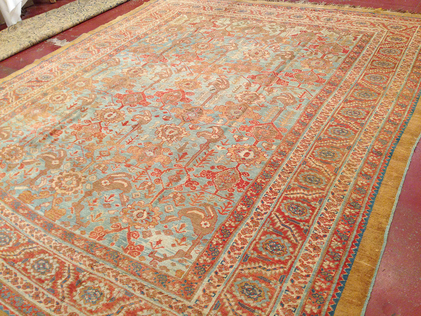 Antique bakshaish Carpet - # 50267