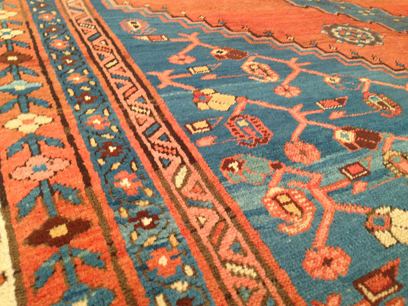 Antique bakshaish Carpet - # 50381