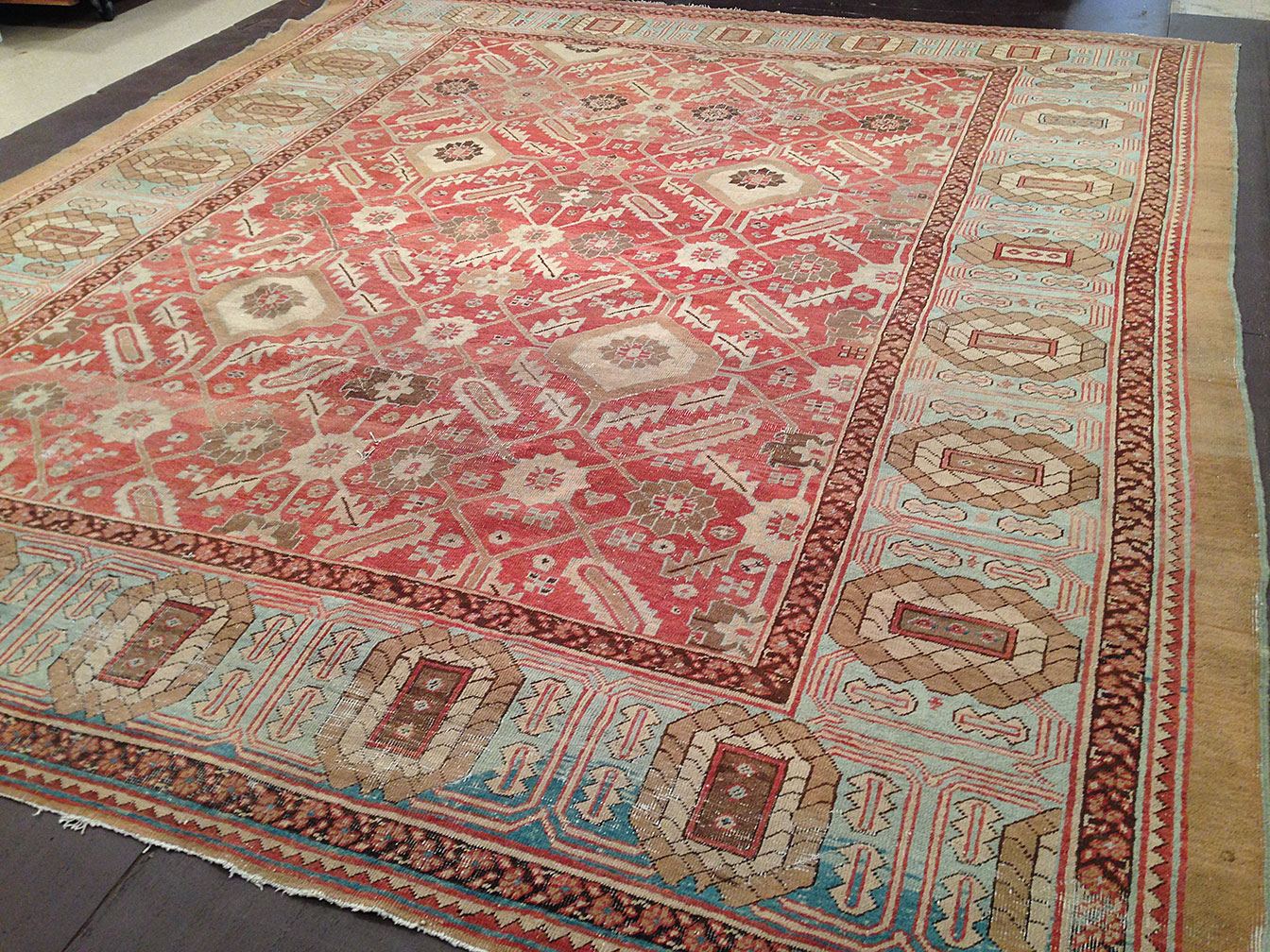 Antique bakshaish Carpet - # 50704