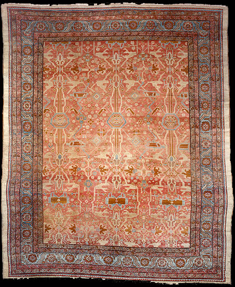 Antique bakshaish Carpet - # 51482