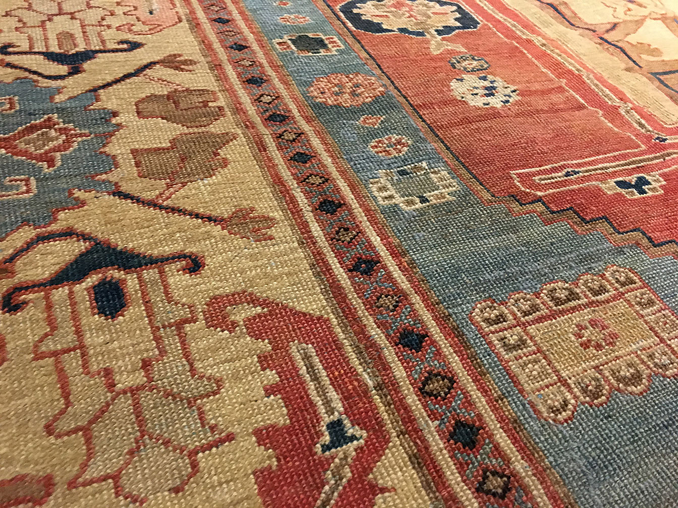 Antique bakshaish Carpet - # 52960