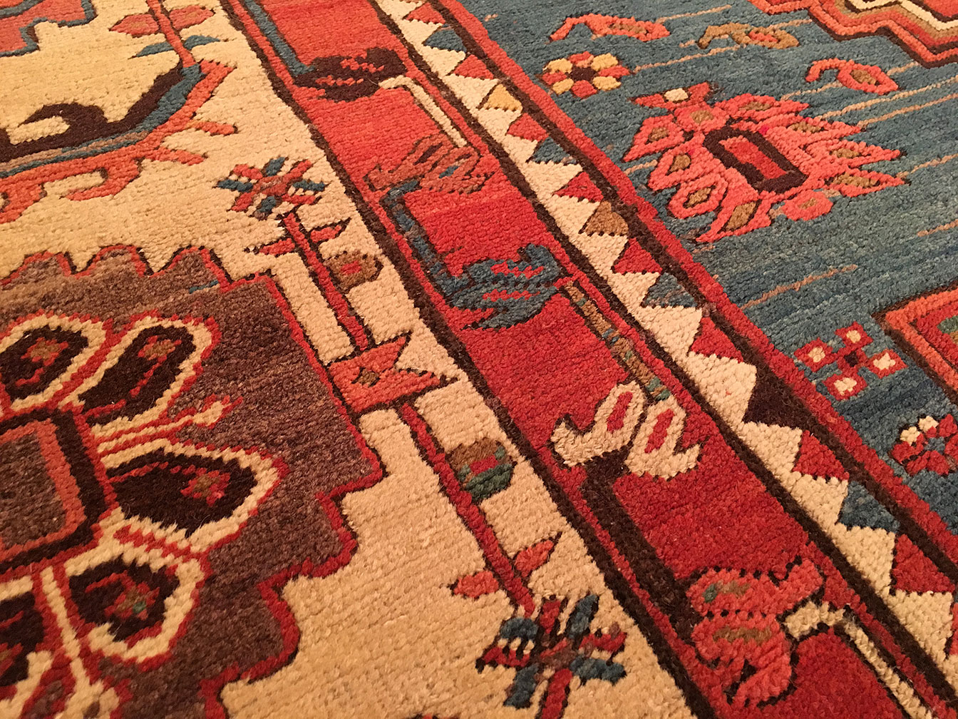 Antique bakshaish Carpet - # 52981