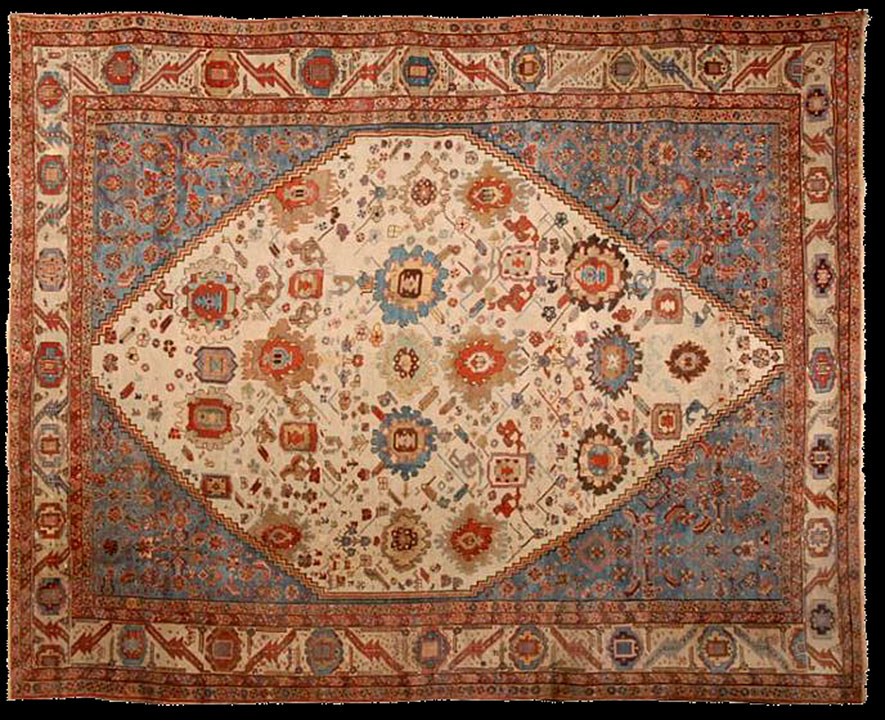 Antique bakshaish Carpet - # 53017