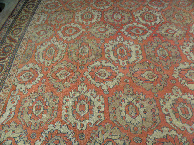 Antique bakshaish Carpet - # 6534
