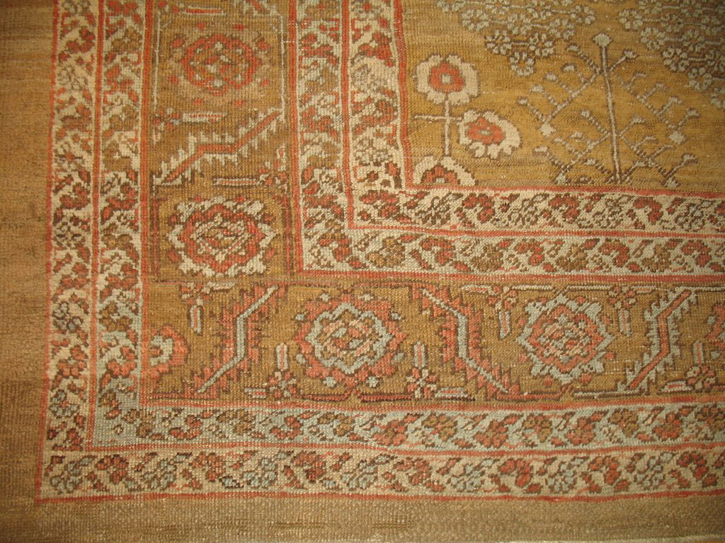 Antique bakshaish Carpet - # 6743