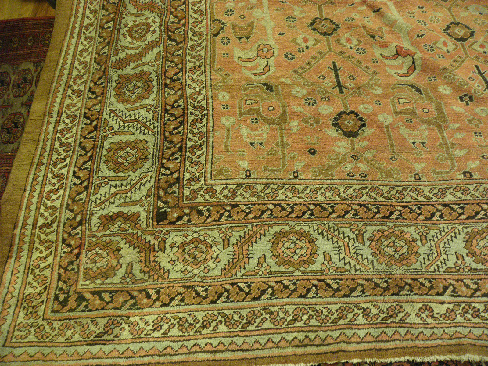 Antique bakshaish Carpet - # 6750