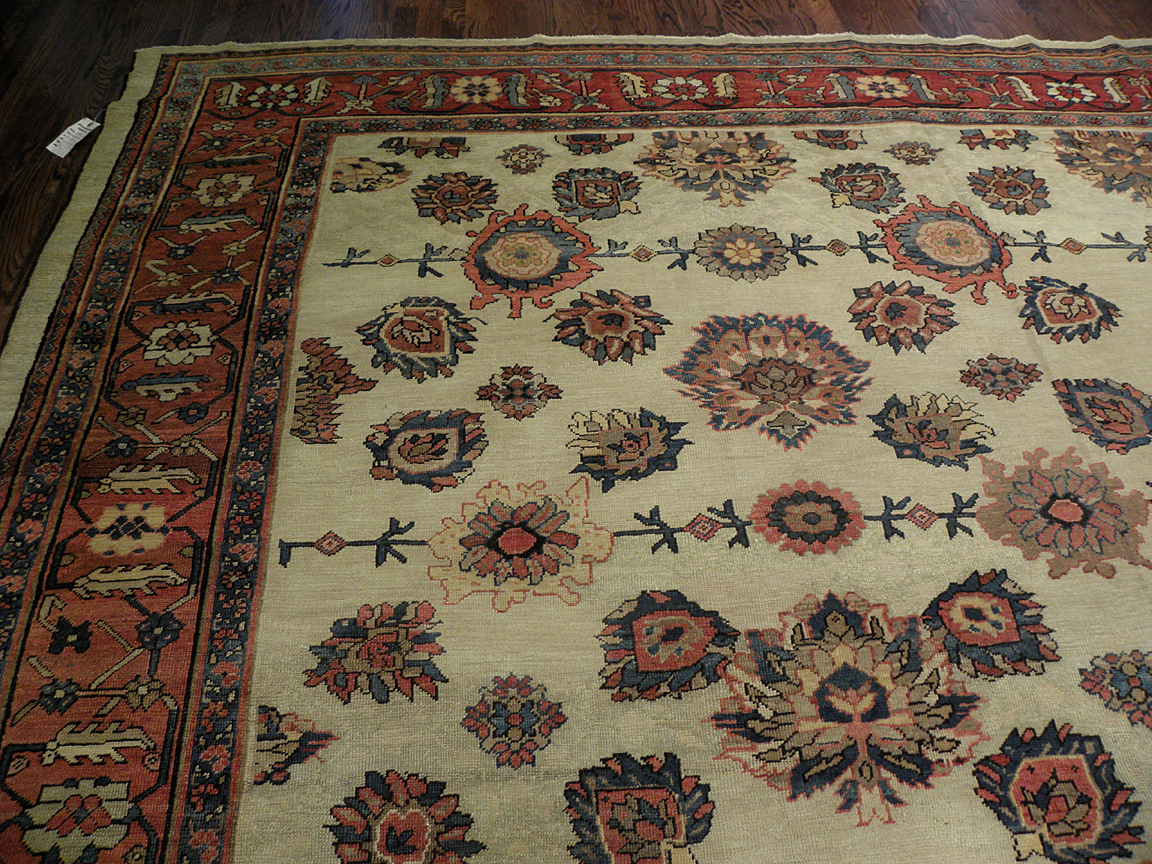 Antique bakshaish Carpet - # 7230