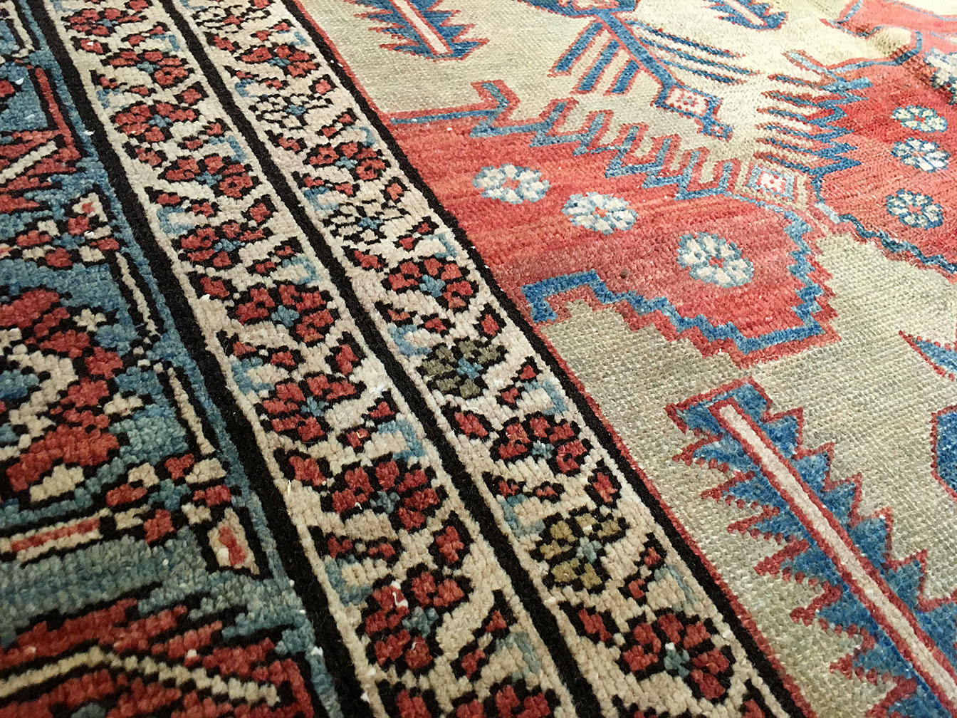 Antique bakshaish Carpet - # 8723