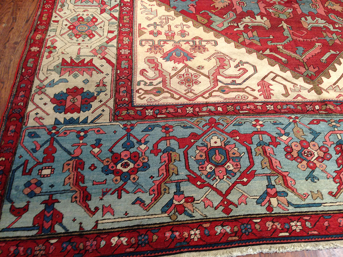 Antique bakshaish Carpet - # 9463