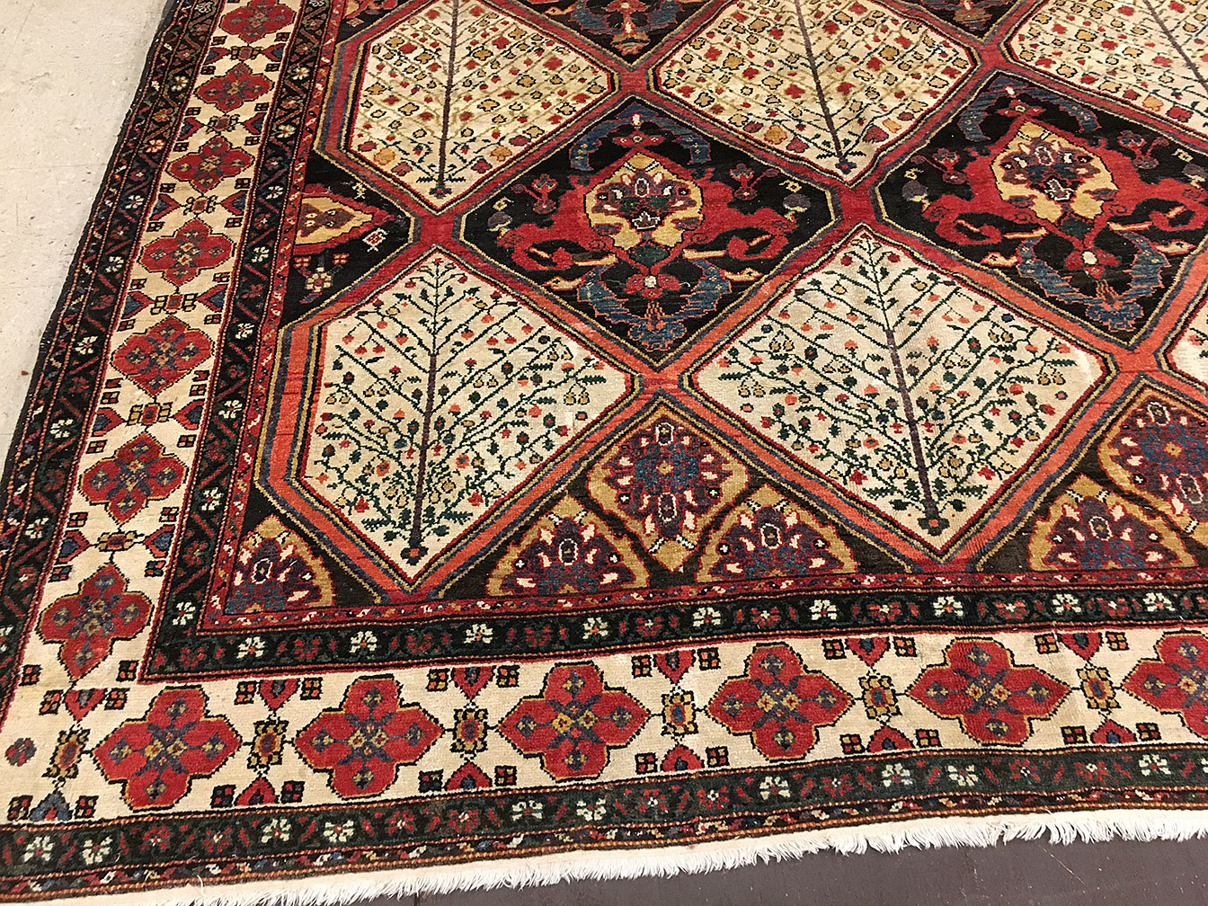 Antique baktiari Carpet - # 51990