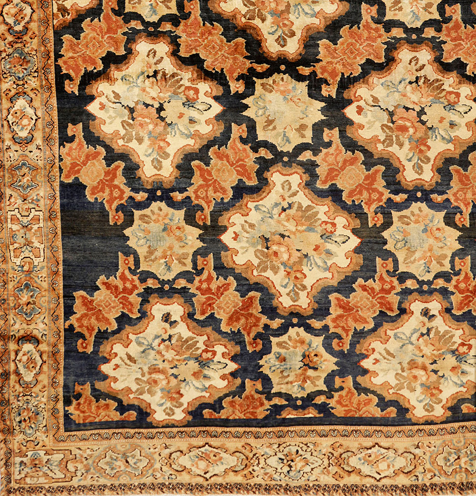 Antique baktiari Carpet - # 5653