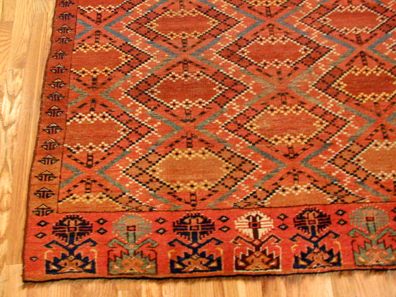 Antique beshir chuval Rug - # 3170