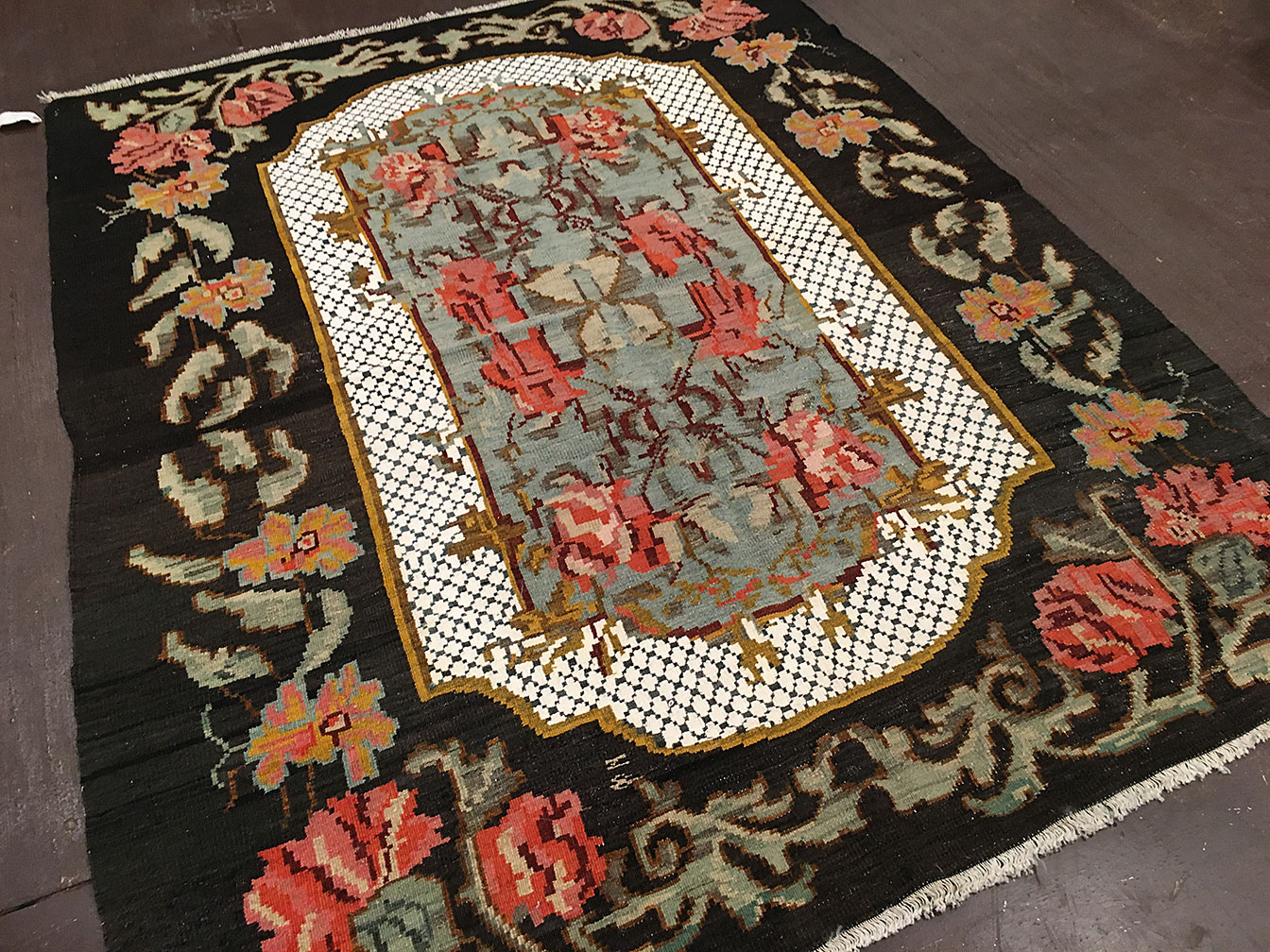 Antique bessarabian Rug - # 91007