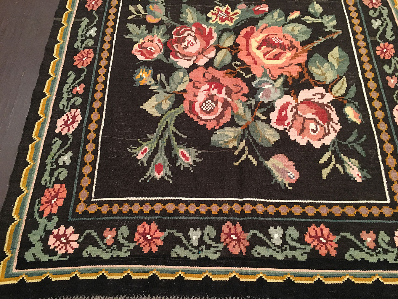 Antique bessarabian Rug - # 91009