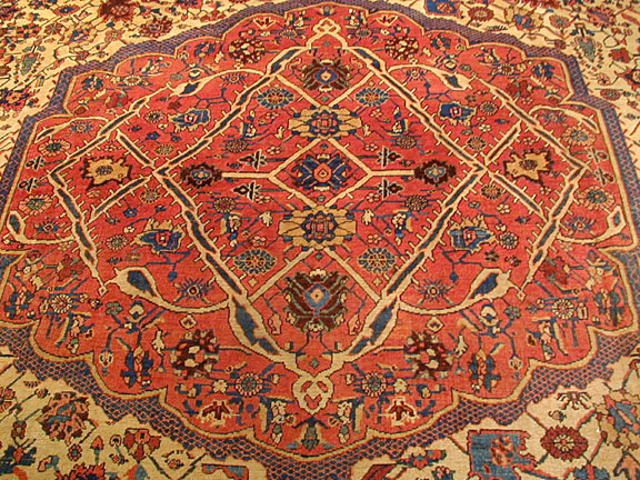 Antique bidjar Carpet - # 4806