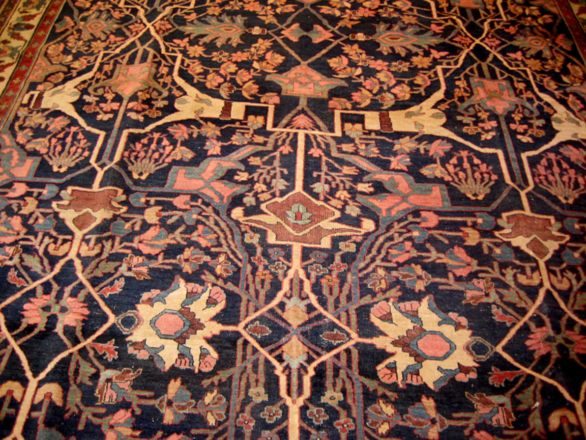 Antique bidjar Carpet - # 52151