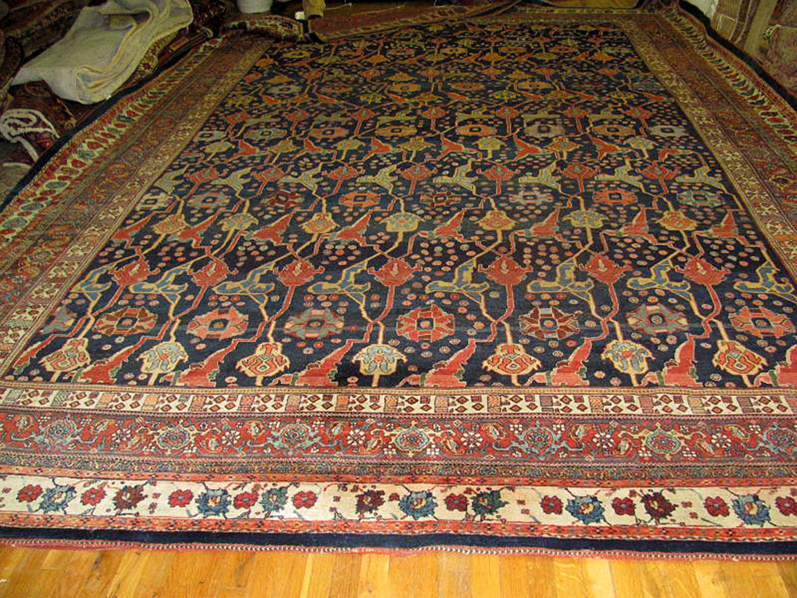 Antique bidjar Carpet - # 52605