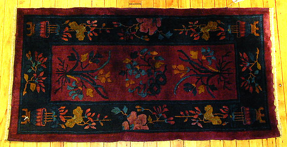 Antique chinese, nichols Rug - # 1853