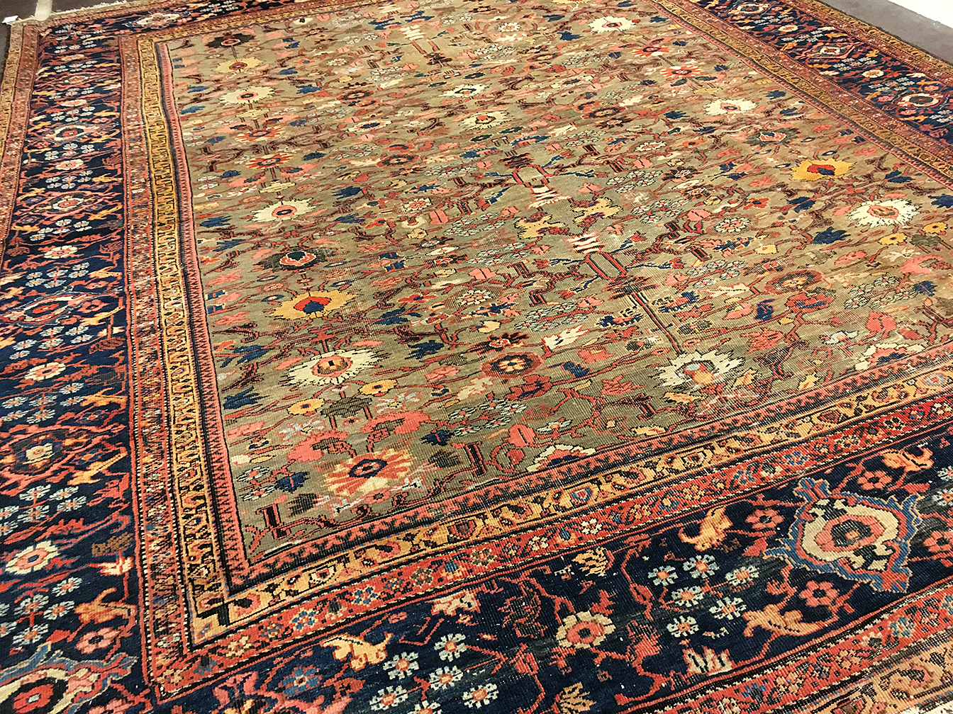 Antique fereghan Carpet - # 80007
