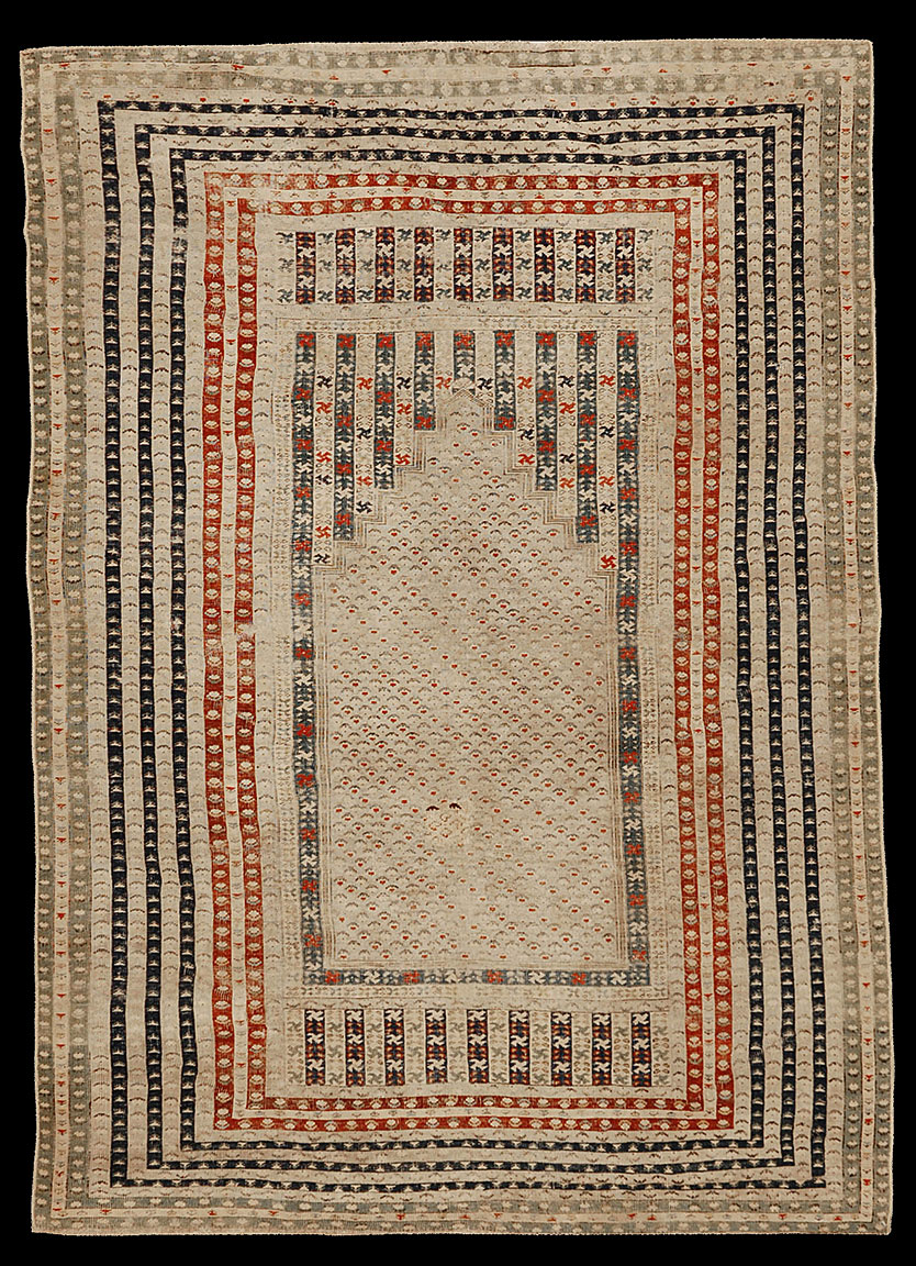 Antique ghiordes Rug - # 53000