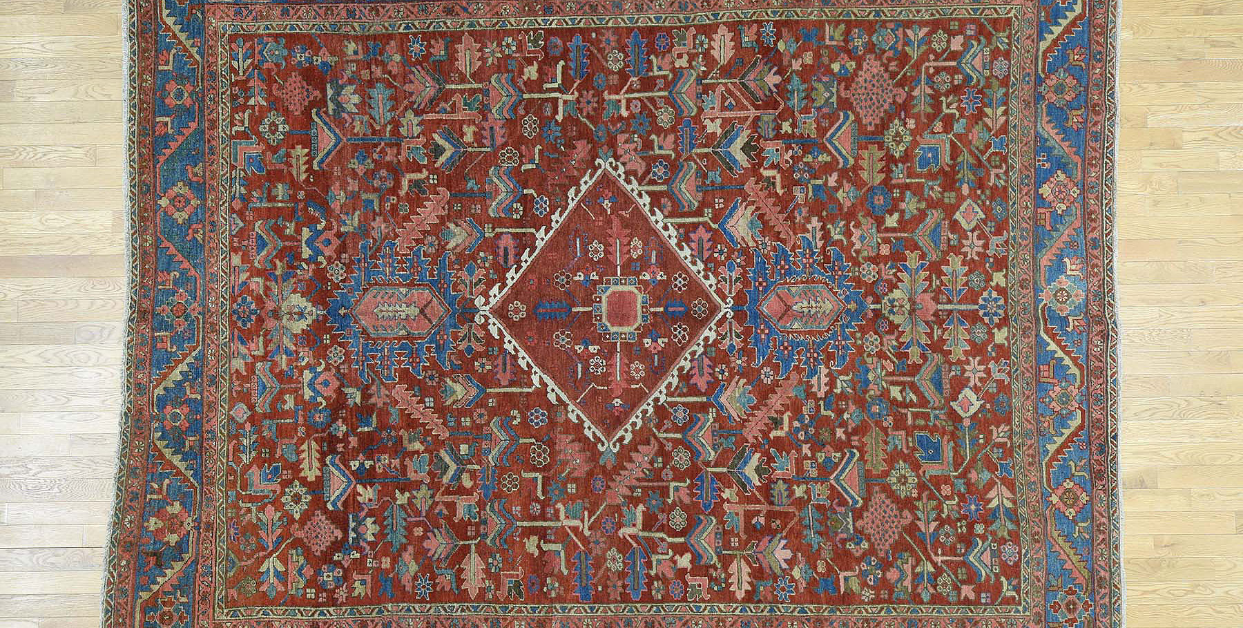 Antique heriz Carpet - # 53168