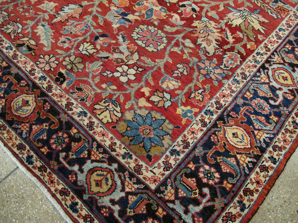 Antique heriz Carpet - # 53542