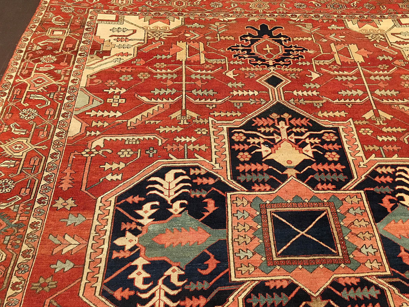 Antique heriz Carpet - # 53604