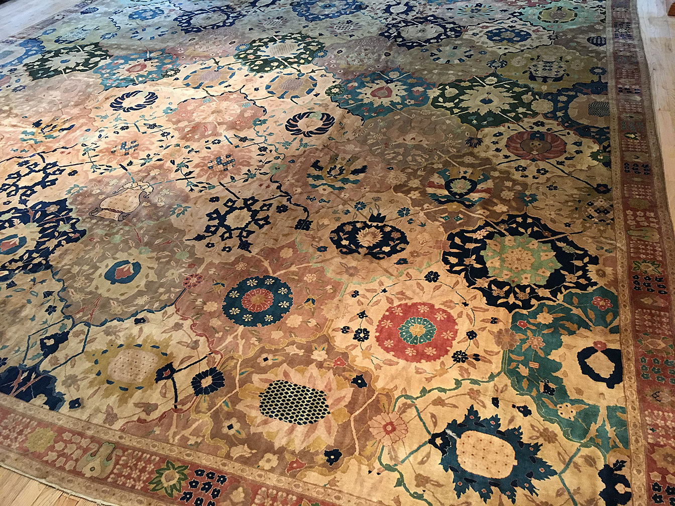 Antique indian Carpet - # 51114