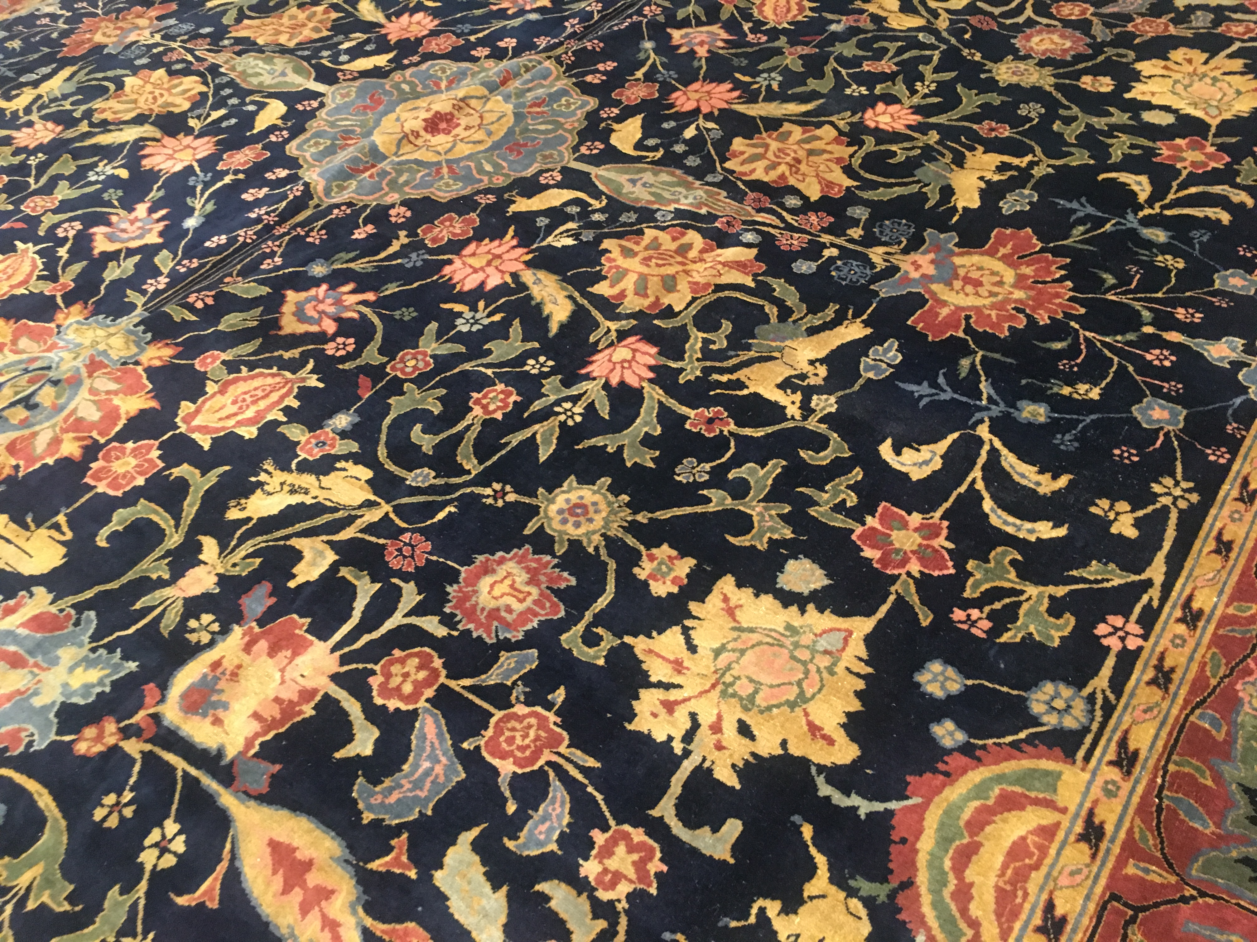 Antique indian Carpet - # 53876