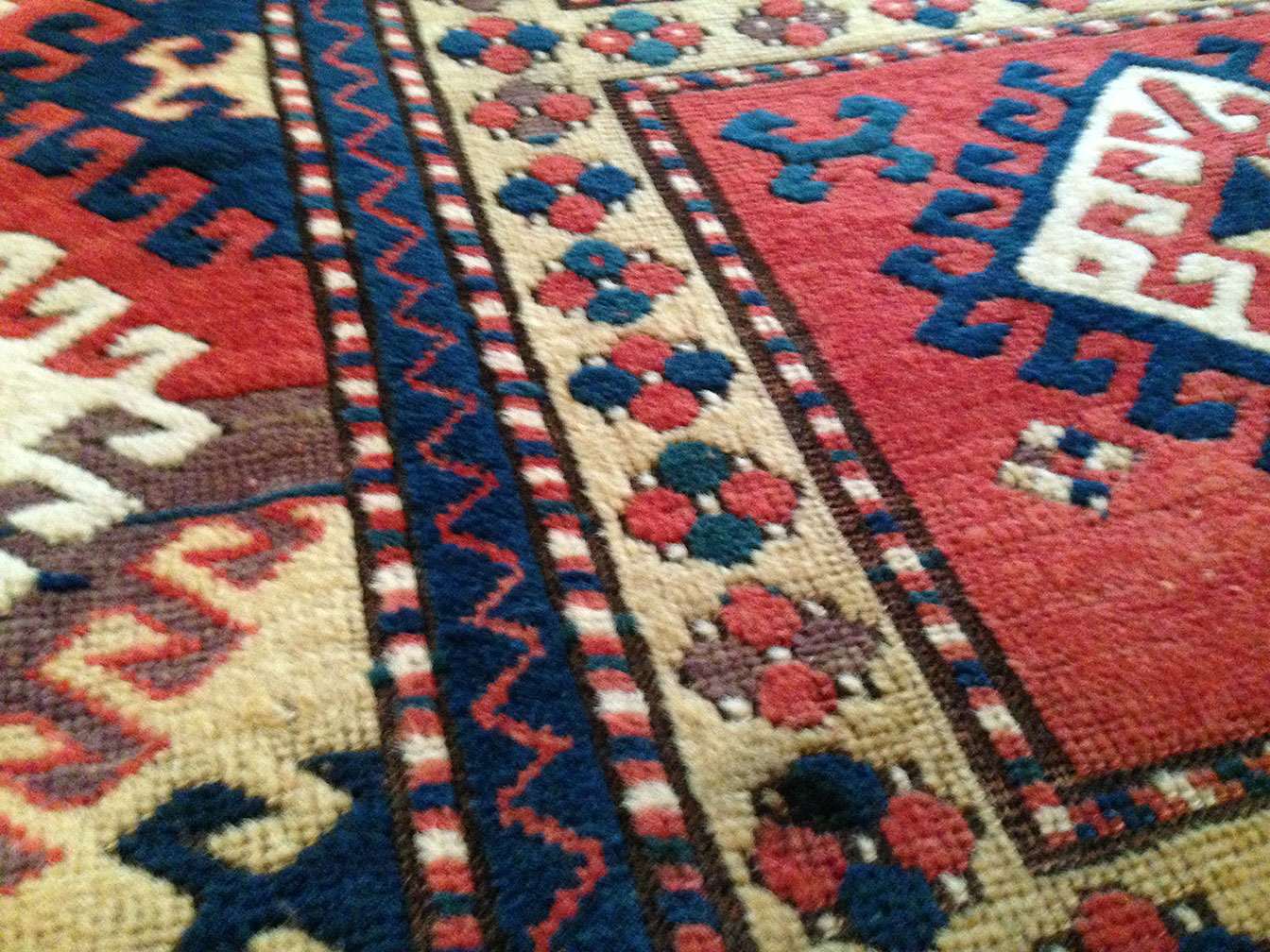 Antique kazak, bordjaloo Rug - # 9646