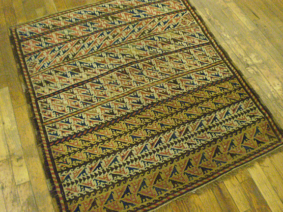 Antique kazak Rug - # 6303