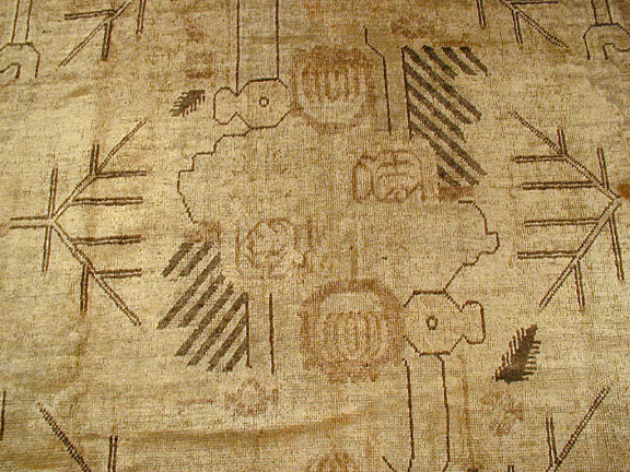 Antique khotan Rug - # 3763