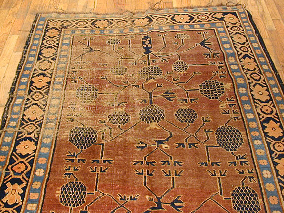 Antique khotan Rug - # 4507