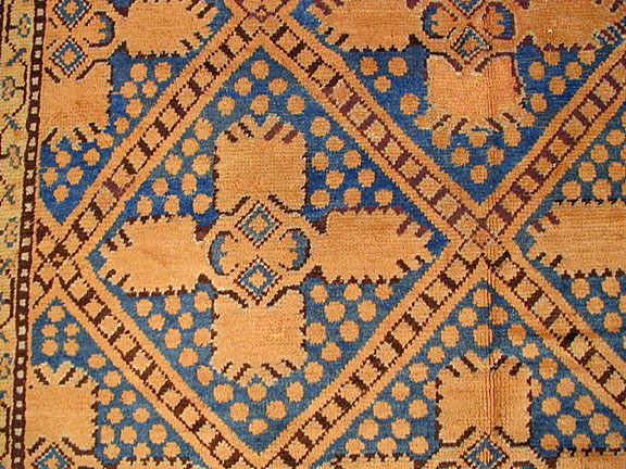 Antique khotan Rug - # 5573