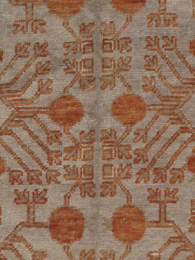 Antique khotan Rug - # 6687