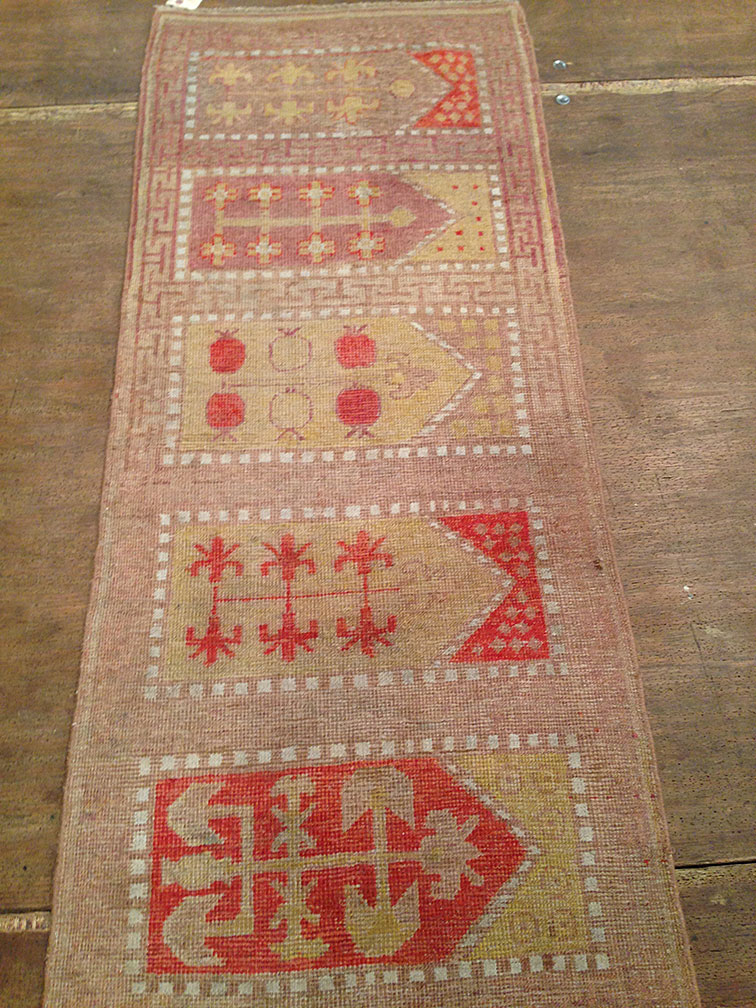 Antique khotan Runner - # 8958