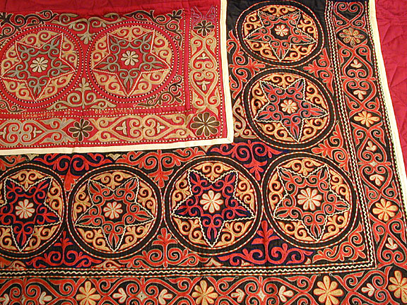 Antique kirghiz Rug - # 4311