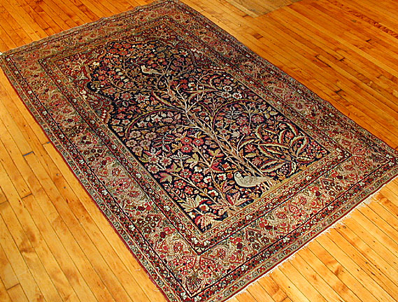 Antique kirman, lavar Rug - # 2086