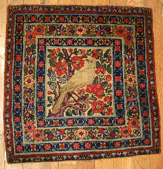 Antique kirman, lavar Rug - # 4684