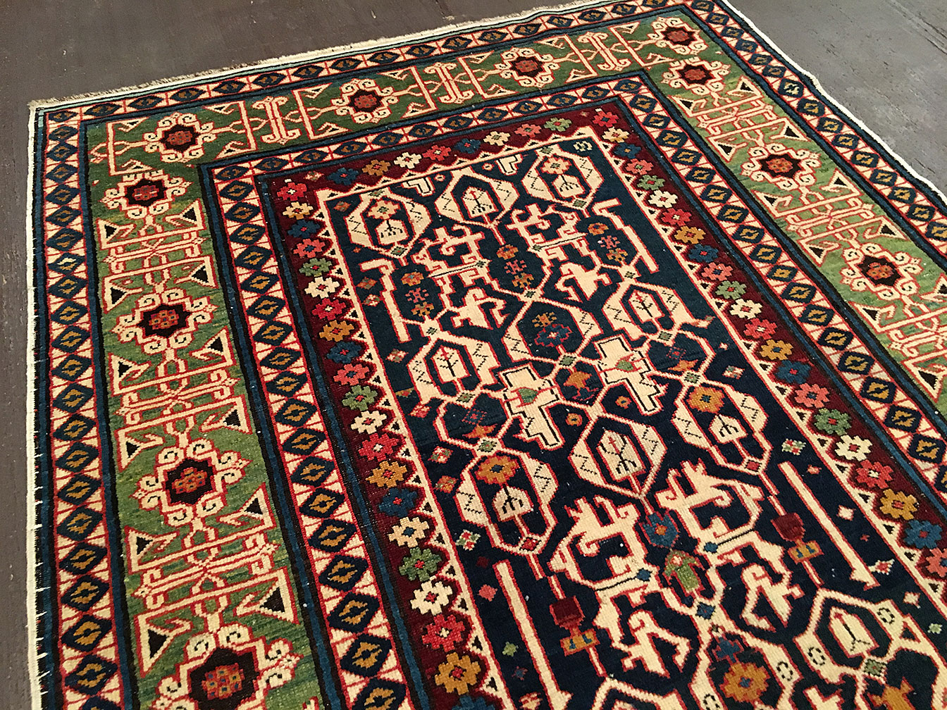 Antique kuba Rug - # 51602