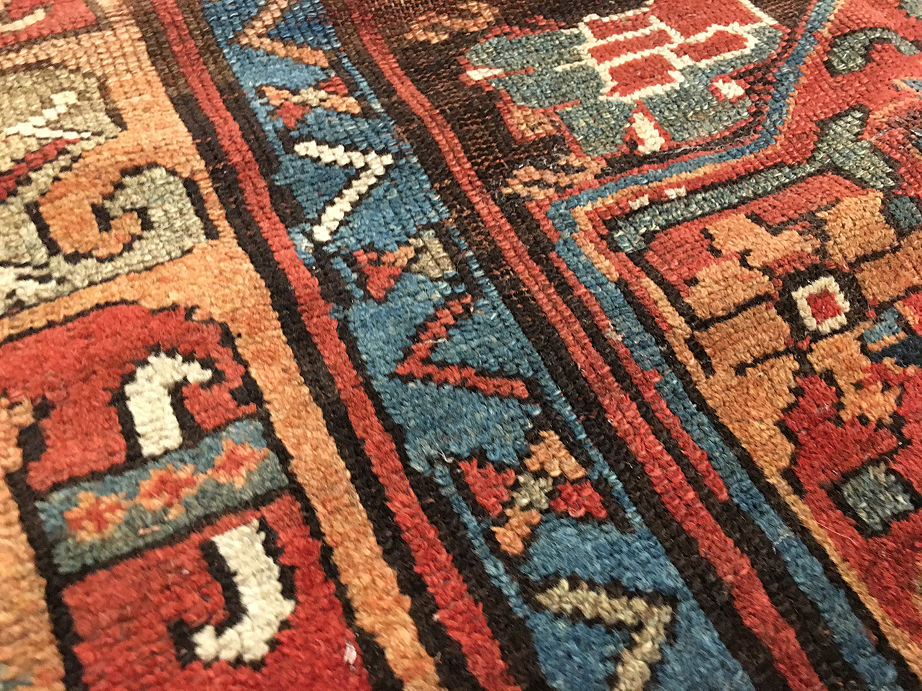 Antique kurdish Rug - # 80009