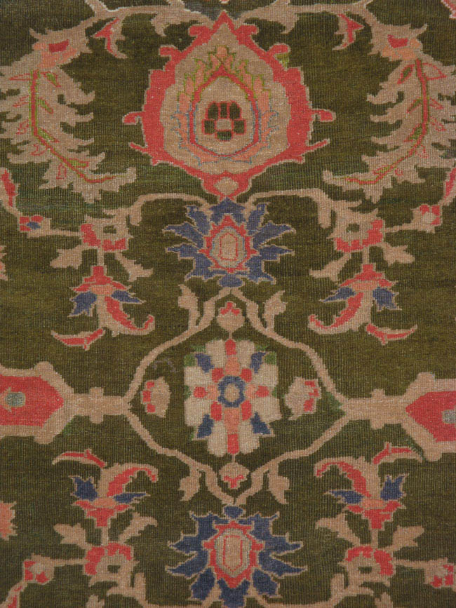 Antique mahal Carpet - # 41407