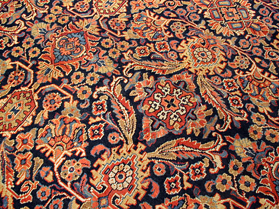Antique mahal Carpet - # 5086