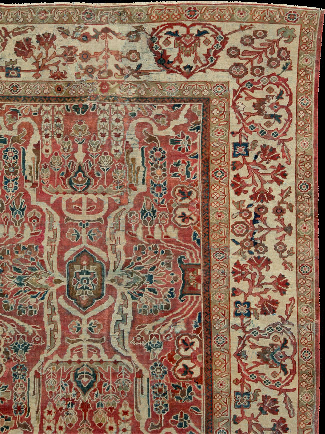 Antique mahal Carpet - # 52945