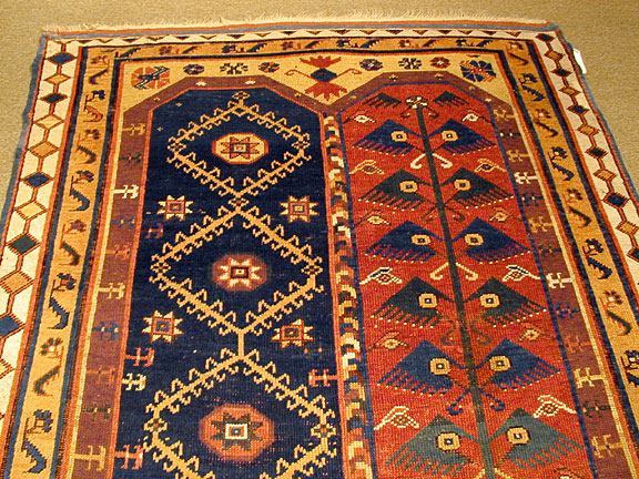 Antique makri Rug - # 2761