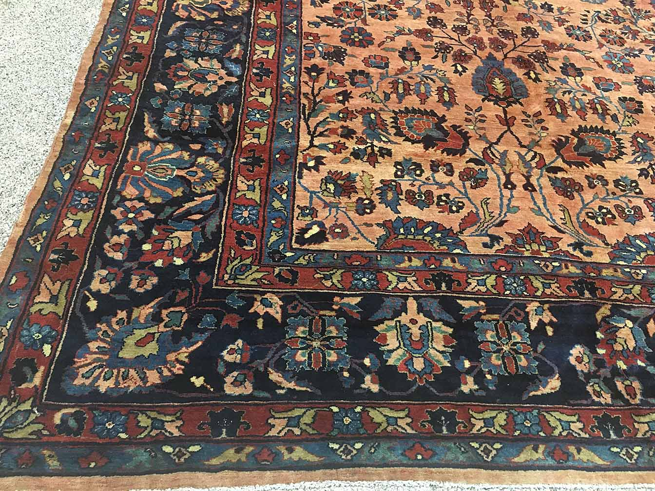 Antique malayer Carpet - # 54377