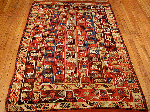 Antique melas Rug - # 3775