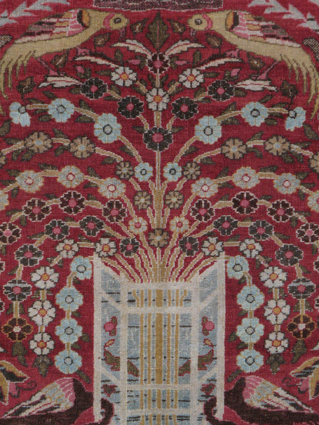 Antique meshed Carpet - # 42165